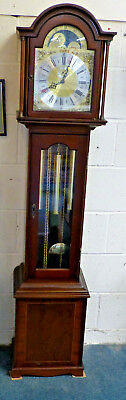 Richard Broad Bodmin Longcase Grandmother Triple 3 Chime Rolling Moon Clock