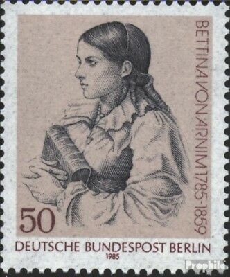 Berlin (West) 730 (kompl.Ausg.) FDC 1985 Beetina von Arnim