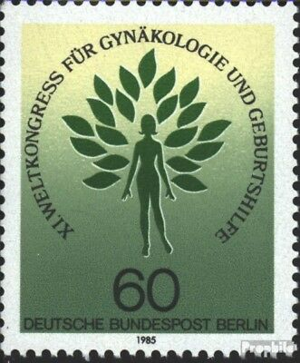 Berlin (West) 742 (kompl.Ausg.) FDC 1985 FIGO-Kongress