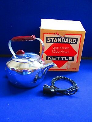 Vintage Collectable Standard Quick Boiling Electric Kettle Boxed