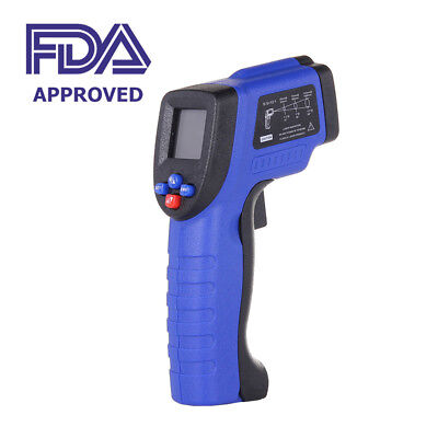 Digital Temperatire Gun Non-contact IR Sensor Measuring Laser Thermometer FDA