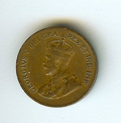 Canada 1923 Small Cent  Extremely Fine  Key Date!