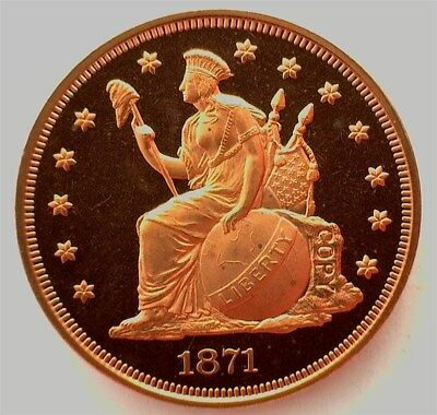 1871 (2004) Indian Princess Copper Pattern Dollar Exceptional Proof