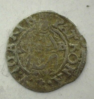 Rudolf Ii Of Hungary 1577-Kb Silver Denar -Madonna & Child- Uncirculated