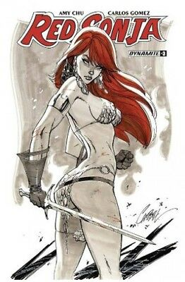 Red Sonja #3 Cover B Campbell