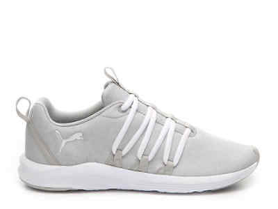 f4ef850748db5b New Puma Womens Prowl Alt Gray White Lace Up Running Trail Sneaker Shoes Sz  10.5
