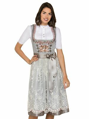 Stockerpoint Midi Dirndl 70cm 2tlg. Aleen Grey Smoke