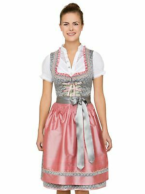 Stockerpoint Midi Dirndl 2tlg. 60cm Nane Grey Rose