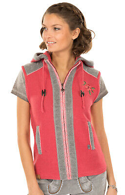 Spieth & Wensky Traditional Costume Vest Grains Coral