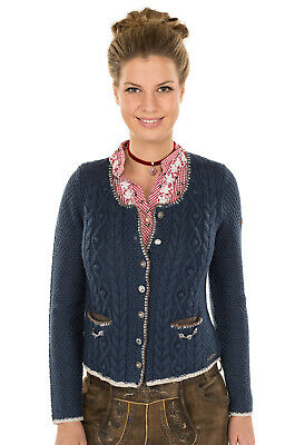 Spieth & Wensky Traditional Knitted Jacket Aida Jeans Blue