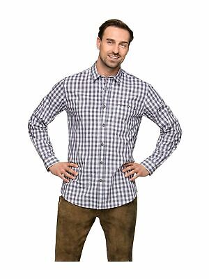 Stockerpoint Traditional Shirt Shirt Checkered Mitchel Grey