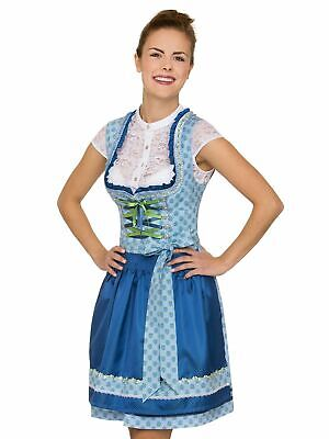 Stockerpoint Mini Dirndl 2tlg. 50 cm Sara Light Blue Azur
