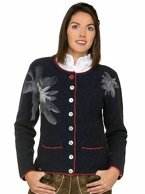 Stockerpoint Traditional Knitted Jacket Tammy Dark Blue
