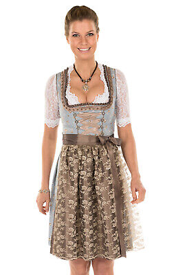 Marjo Mini Dirndl 2tlg. 55cm Estella Blue Copper