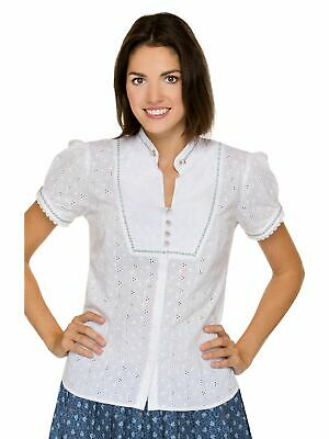 Stockerpoint Traditional Costume Blouse Lera White