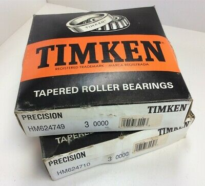 2x HM803146-HM803110 Tapered Roller Bearing QJZ Premium Free Shipping Cup /& Cone