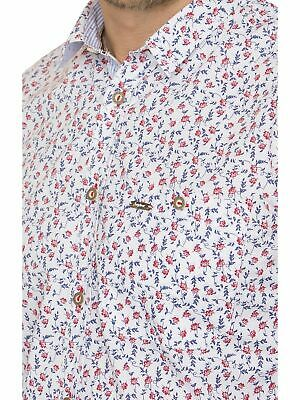 Stockerpoint Traditional Shirt Long Sleeve Modern Fit Ringo Flower