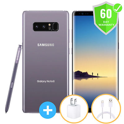 Samsung Galaxy Note8 SM-N950U | GSM UNLOCKED | 64GB | Orchid Gray | EXCELLENT
