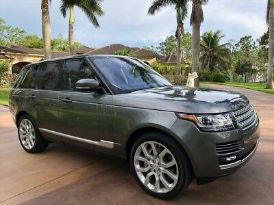Range Rover Supercharged 2016 Land Rover Range Rover Supercharged Automatic 4-Door SUV