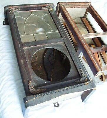 2 Vintage Wood Wall Clock Cases For Spares Repair