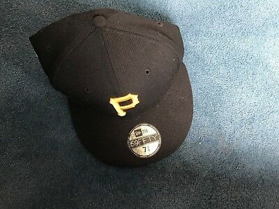 best service 7a235 e486e MLB Black New Era Pittsburgh Pirate 59Fifty All Star Game Fitted hat RARE