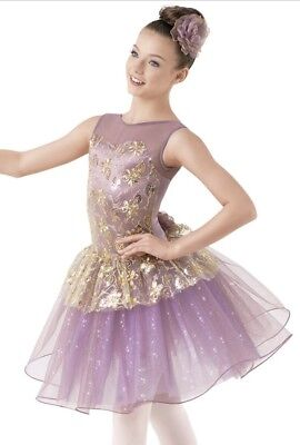 Weissman La Bayadere sequined 2pc Dance Costume Outfit MC 9495