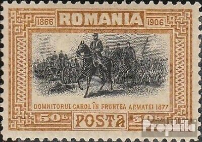 Romania 194 with hinge 1906 Regency of Karl I.