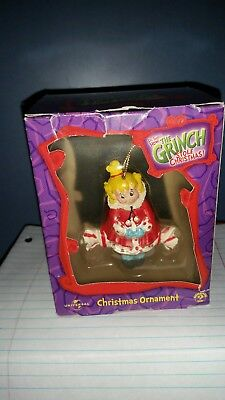 "CINDY LOU ""How The Grinch Stole Christmas"" Christmas Ornament in box from 2000"