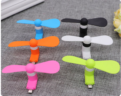 Mini Micro USB Mobile Phone Portable Fans For iPhone Android Samsung Galaxy HTC