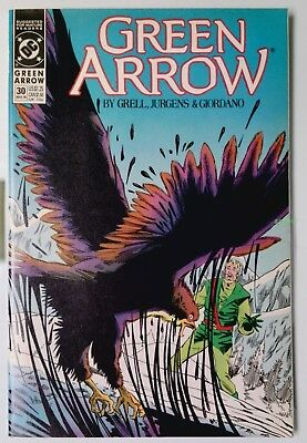 Green Arrow #30 (Mar 1990, DC) VF/NM