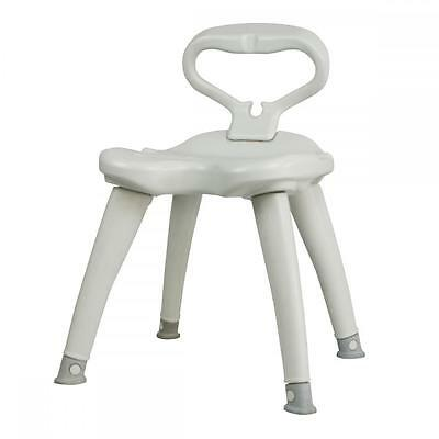 Shower Chair Detachable Backrest non-slip feet HDPE Light weight and sturdy BC09