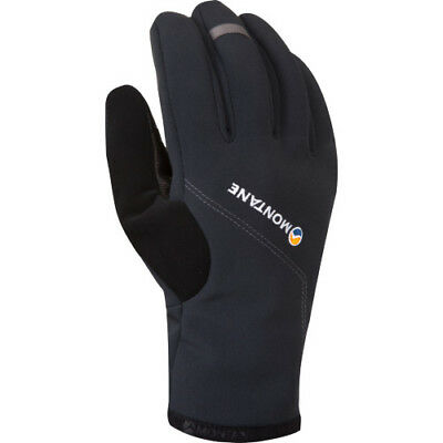 Montane Windjammer Mens Gloves - Black All Sizes