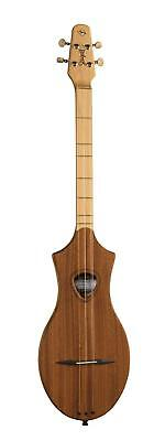 Spitzen natural Mahogany SG Dulcimer Gitarre - Small in stature. Big in fun!