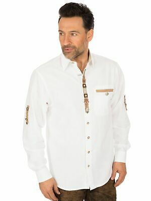 Os-Trachten Traditional Shirt Edgar White