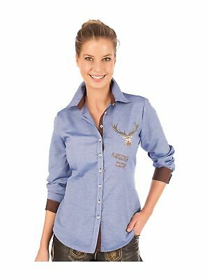 Orbis Traditional Costume Blouse Belina Jeans Blue