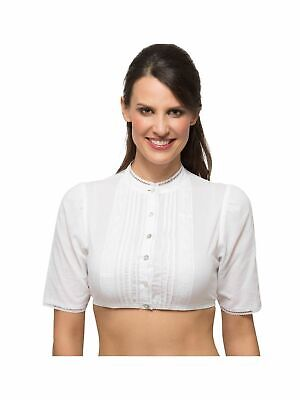 Stockerpoint Dirndl Blouse B7086 short Sleeve White