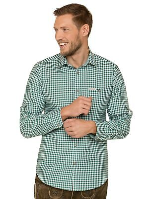 Stockerpoint Traditional Shirt Long Sleeve Comfort Fit Campos3 Dark Green