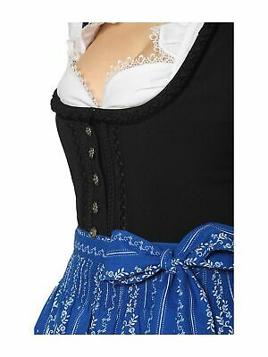 Stockerpoint Traditional Costume Dirndl Apron 90cm SC195 Royal