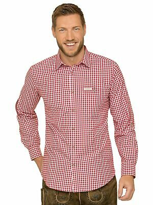 Stockerpoint Traditional Shirt Long Sleeve Comfort Fit Campos3 Red