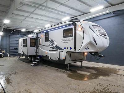 New 2018 Coachmen Chaparral 373MBRB Bunk House 5th Wheel Camper