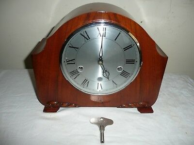 Smiths, Westminster Chimes Mantle Clock, Excellent Cond but Needs Attention.