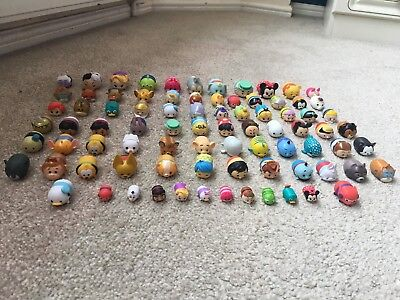 Very Large Bundle Of Tsum Tsums Over 80 Rare Glitter Metallic