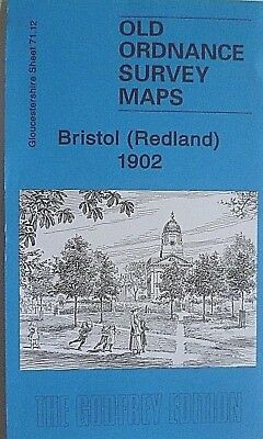 Old Ordnance Survey Maps Bristol (Redland) Gloucestershire 1902 Godfrey Edition