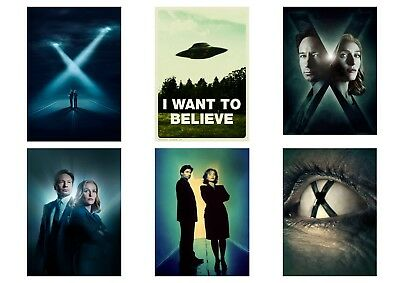 X-FILES TV Show  Dana Scully Fox Mulder  the Truth is Out There  A5 A4 A3 Poster