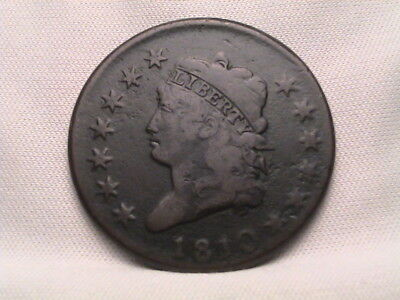 1810 Classic Head Large Cent. S-284, R3