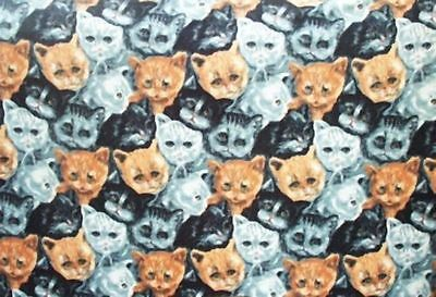 Home Decor' Cats Cats & More Cats Fleece Wall Hanging /Blanket NEW