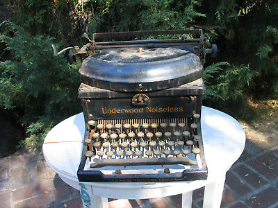 1931 UNDERWOOD NOISELESS Typewriter  #3863219 TYPEWRITER  VTG OLD