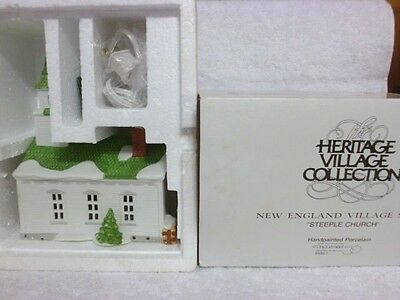 Dept 56 New England Steeple Church - 65307