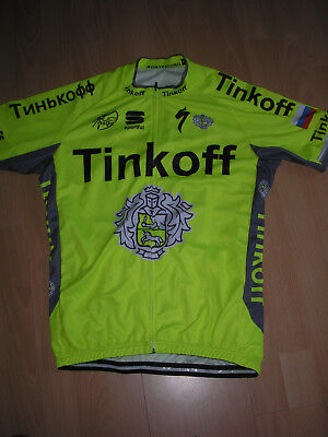 Veste Maillot  Cycliste  °° Tinkoff  Taille Xl °°
