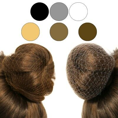 GIRLS/LADIES HAIR NETS Dance Gymnastics Equestrian Mesh Ballet Sport Bun Cover